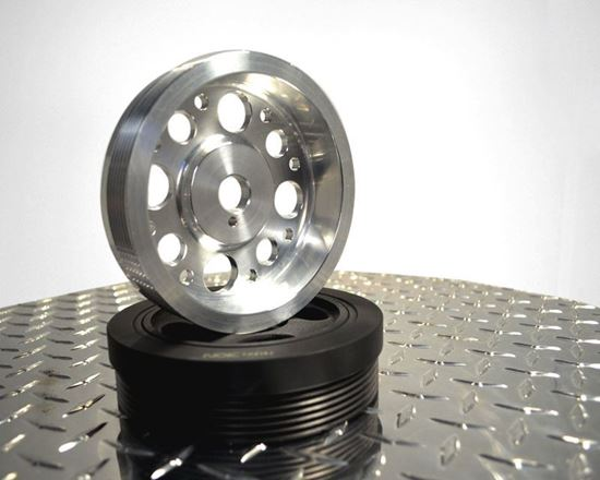Picture of Agency Power Pulley - Silver Crank Pulley