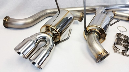 Picture of ETS STI Stainless Steel Extreme Catback Exhaust - WRX