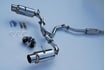 Picture of Invidia N1 Cat-Back Exhaust Stainless Steel Tips FRS/BRZ/86