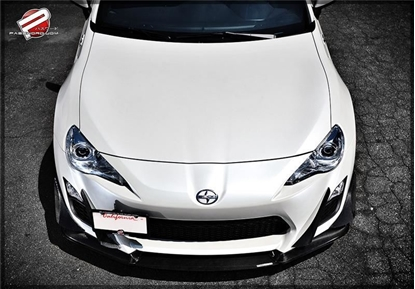Picture of Password JDM Dry Carbon Front Splitter (Type A)
