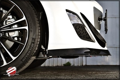 Picture of Password JDM Dry Carbon Front Splitter (Type B)