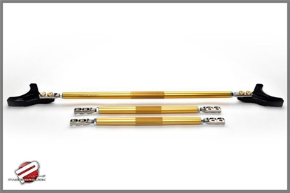 Picture of Password JDM Strut Tower Bar Gold