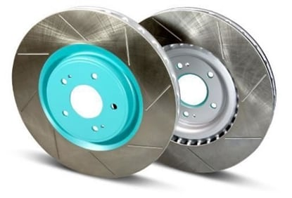 Picture of Project Mu Club Racer Brake Rotors - FRONT (Pair) FRS / BRZ / 86