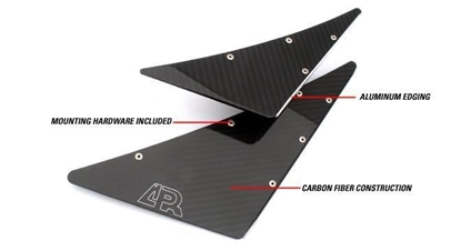 Picture of APR Front Bumper Canards AB-200400