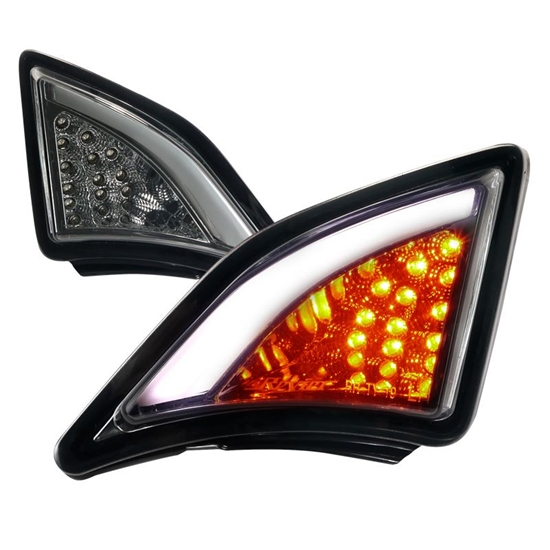 Picture of Chrome/Smoke LED Signal Corner Lights 2012-2016 FRS