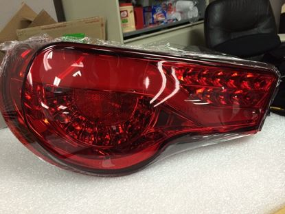 Picture of Spyder Version 2 Tail Lights- Red