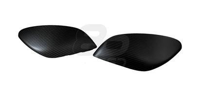 Picture of Carbon Fiber Mirror Overlay - DRY