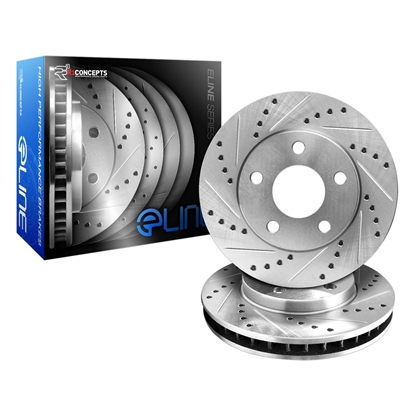 Picture of R1 Concepts E Line  Brake Rotors - Front (OE Style)