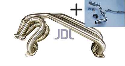 Picture of JDL UEL Header + Invidia N1 Catback (TI TIPS) - Packaged Deal