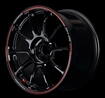 Picture of Volk ZE40 Time Attack Edition 18x9.5 +42 5x100 Black/Red (Face 2) (1 PC)