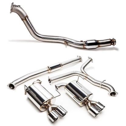 "Picture of COBB Stainless Steel 3""Turbo Back Exhaust System - 2015+ STI"