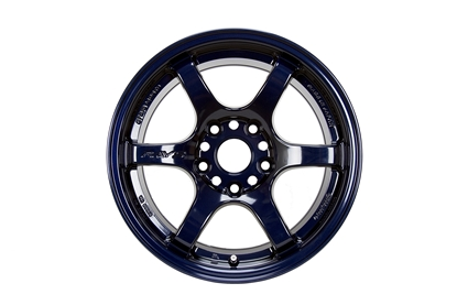 Picture of Gram Lights 57DR 18x9.5 5x100  +38 Dark Blue Wheel