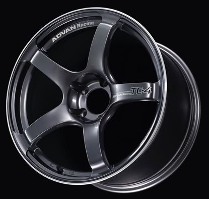 Picture of Advan Racing TC4 18x9.5 +45 5x100 Racing Gunmetallic and Ring
