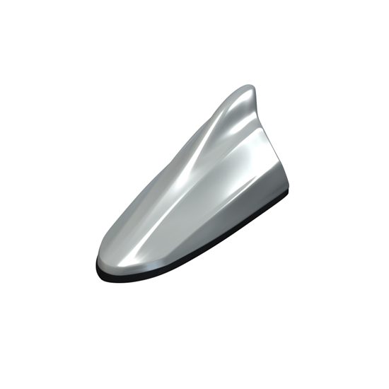 Picture of 10 Series Beat Sonic Shark Fin Antenna Scion 10 Series - FDA43 - Silver Ignition