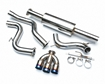 Picture of Agency power Catback Exhaust Triple Ti Tips Focus ST 2013+