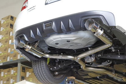 Picture of MXP Comp RS Dual Exit Exhaust  WRX / STI 15+
