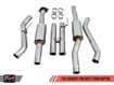 Picture of AWe Tuning FG Resonated H-Pipe Raptor 17+ Supercab/Supercrew - 3015-11044