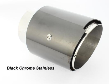 Picture of Remark Black Chrome Tip Cover Catback Exhaust STI / WRX 15+ - RK-C2076S-01B