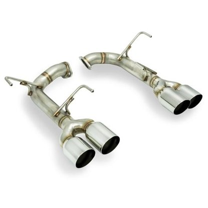 Picture of Remark Axleback Muffler Delete Single wall Stainless Tip STI / WRX 15+ - RO-TSVA-S