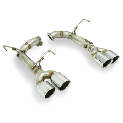 Picture of Remark Axleback Muffler Delete Double wall Stainless Tip STI / WRX 15+ - RO-TSVA-D