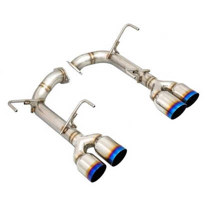 Picture of Remark Axleback Muffler Delete Single wall Titanium Tip STI / WRX 15+ - RO-TTVA-S