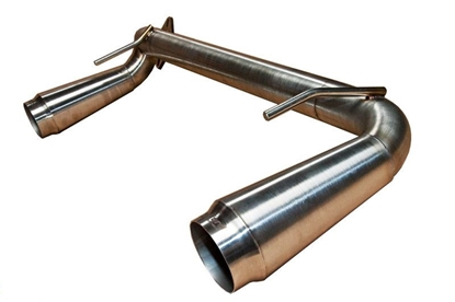 Picture of Crawford  Twin Megaphone Gymkhana Axle Back Exhaust FRS/BRZ/GT86