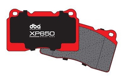 Picture of DBA - XP650 Track / Heavy load Performance Brake Pads (REAR) FRS/BRZ/86 PERFORMANCE PACKAGE REAR