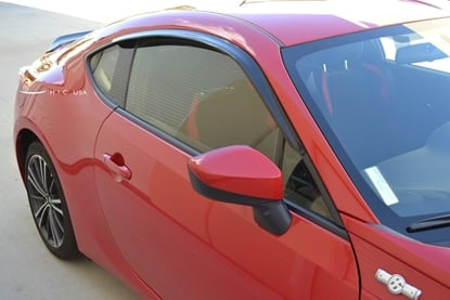 Picture of H.I.C. Side Window Visors Smoked (Set of 2) FRS / BRZ / 86