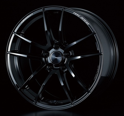 Picture of Weds RN-55M Gloss Black 18x9 +32 5x112 A90 MKV Supra GR 2020+ (Front Fitment)